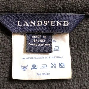 Lands' End Tops - Cozy Lands End Half-Zip Fleece Pullover, size M